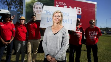 Susan Lamb claimed arguably Labor's biggest scalp when she defeated Wyatt Roy in Longman.