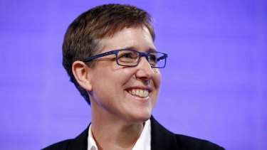 """Australian Council of Trade Unions boss Sally McManus declared she """"would not keep her head down""""."""