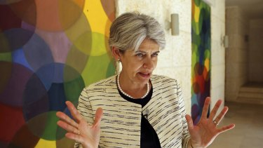 UN secretary-general front runner Irina Bokova of Bulgaria.