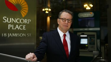 Suncorp Group chief executive Michael Cameron says the reported profit for the half of $530 million is well short of what the group can deliver.