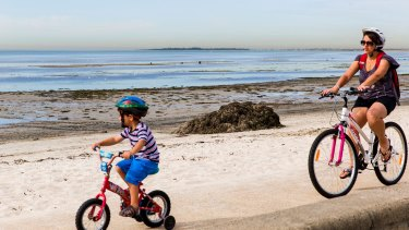 Smelly seaweed piled up at Altona Beach is possibly to blame for Melbourne's odour issues.