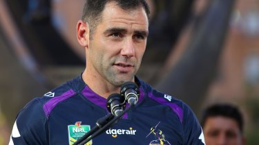 Speaking up: Cameron Smith.