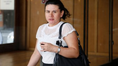 Sydney nurse Mavis Lopez at Downing Centre Local Court is accused of manslaughter over the death of an elderly patient.
