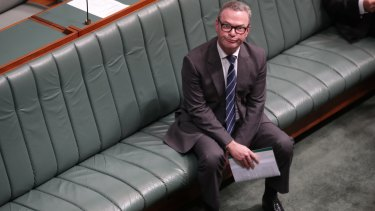 The leader of the House Christopher Pyne would be under threat if a redistribution brought Labor voters into his seat of Sturt.