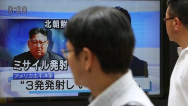 The North Korean missile test sent people on northern Japan searching for cover.