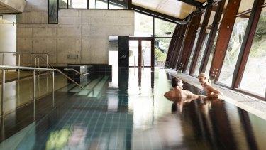 Hepburn Springs Bathhouse and Spa.