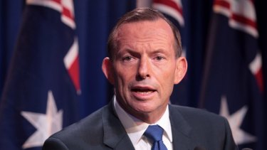 """Prime Minister Tony Abbott said the difference between Australia and the rest of the world was that """"when we make commitments to reduce emissions we keep them""""."""
