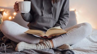 Hygge has more oomph as winter approaches - freshly baked foods, woollen blankets, cashmere socks, low-lighting, candles, cups of tea, warm fireplaces.