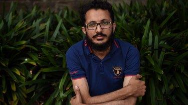 Former Caltex employee Saqib Riaz.