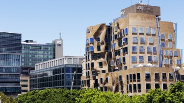 Three of the courses with the highest advertised ATAR cut-offs this year were at the University of Technology.