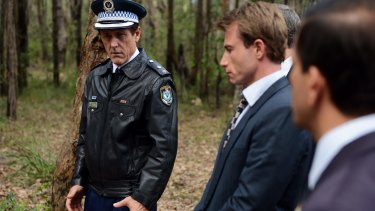 Geoff Morell as Clive Small, left, and Richard Cawthorne as Paul Gordon.