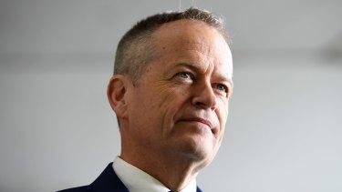 Federal Opposition Leader Bill Shorten.