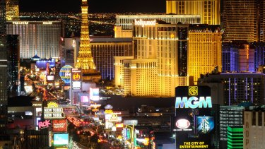 Sin City: James Packer is making a return to Las Vegas.