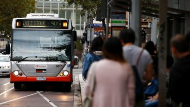 Bus operator Transdev has consistently failed to meet its punctuality targets.