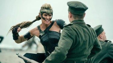 Robin Wright in Wonder Woman.