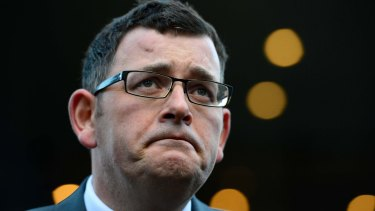 """I'm sick of Liberal politicians telling our kids that there's something wrong with them – when there isn't."": Premier Daniel Andrews."