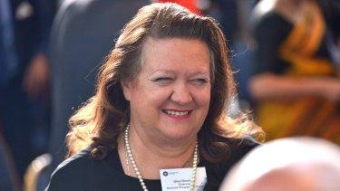 Lost a court bid against her two estranged children: Mining magnate Gina Rinehart.