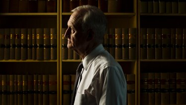 """Not retiring quietly: Reg Blanch, chief judge of the NSW District Court, describes mandatory sentencing laws as """"fundamentally unjust""""."""