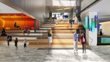 The entrance to ACMI is in line for an overhaul and will eventually look like this.