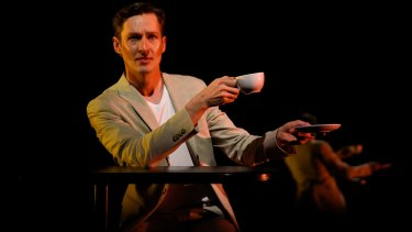 Luke Mullins entangles the audience in the inner monologue in <i>Lake Disappointment.</i>