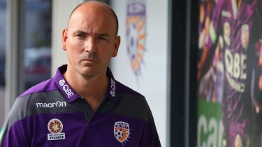 Resigned: Perth Glory chief executive Jason Brewer.