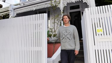 """Andrew McKenzie of South Yarra: """"I don't want them to take my house""""."""