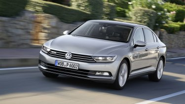 The 2015 Volkswagen Passat is one of a number of vehicles that has VW in trouble with US authorities over diesel emissions.