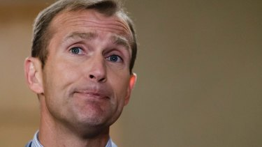 """""""More transparency"""" in SRE: Education Minister Rob Stokes."""