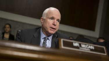 Republicans are on the attack, most notably previous nominee John McCain.