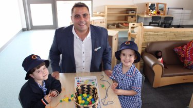 Anthony Simone is at the helm of a new public school that will serve children and families in the Victorian suburb of Epping.
