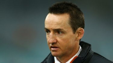 Plenty on his mind: Wests Tigers coach Jason Taylor.