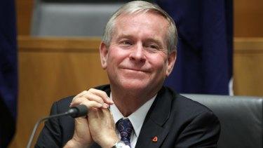 West Australian Premier Colin Barnett.