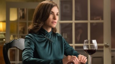 Julianna Margulies as Alicia Florrick in <i>The Good Wife</i>.