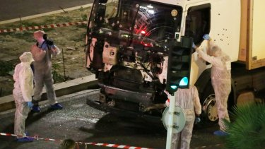 The truck ploughed through the Bastille Day crowd, killing 86 people and injuring more than 300.