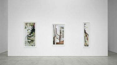Part of Cressida Campbell's exhibition at the CFA Gallery in Berlin.