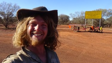 Sam Mitchell took 55 days to complete the Canning Stock Route.