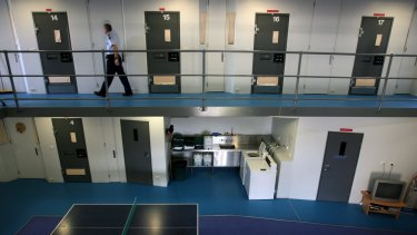 There will be no young inmates at the Grevillea unit at Barwon Prison from today.