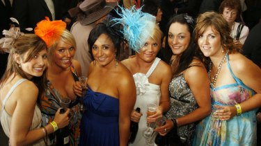 Dressing up for the Melbourne Cup is an Australian tradition.