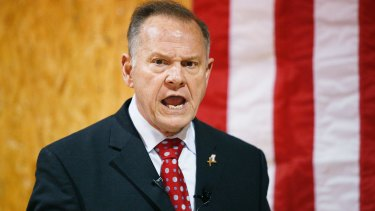 Accused former Alabama Chief Justice and US Senate candidate Roy Moore has the support of US President Donald Trump.