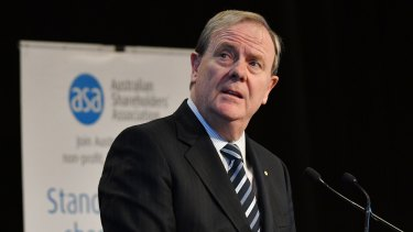 Future Fund chairman Peter Costello had in recent months warned of possible lower returns ahead.