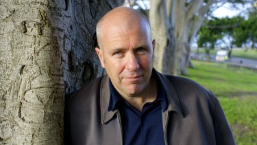 Richard Flanagan, winner of the Man Booker prize for fiction for <i>The Narrow Road to the Deep North.</i>