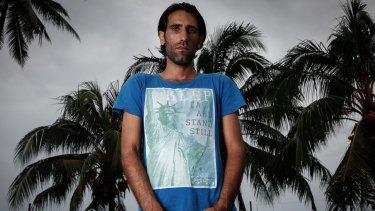 Behrouz Boochani on Manus Island, Papua New Guinea.