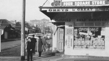 The Bondi corner store where he was taken.