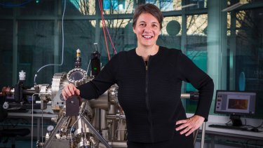 Michelle Simmons, quantum physics professor at the University of NSW.