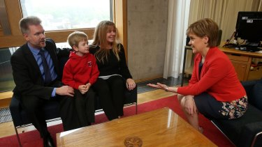 Sturgeon has talked up the benefits of migrants for Scotland's workforce.