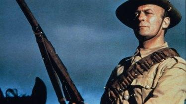 Edward Woodward as Harry Morant in Breaker Morant.
