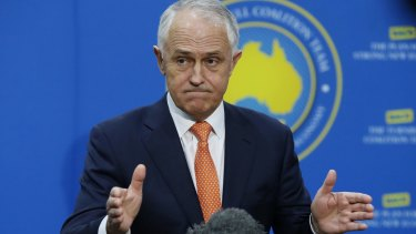 Prime Minister Malcolm Turnbull's popularity in his electorate of Wentworth has fallen.