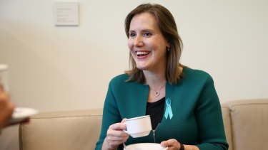 Expected to move up the ladder: Kelly O'Dwyer.