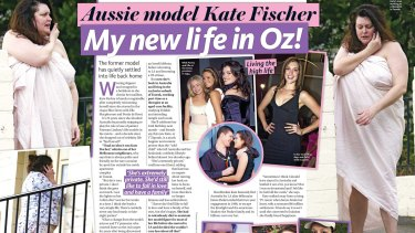 The Woman's Day article that launched renewed media appearances by Kate Fischer, now known as T'Ziporah Malkah.