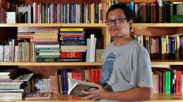Indonesian writer Eka Kurniawan was among those invited to discuss the 1965 massacres at the festival.